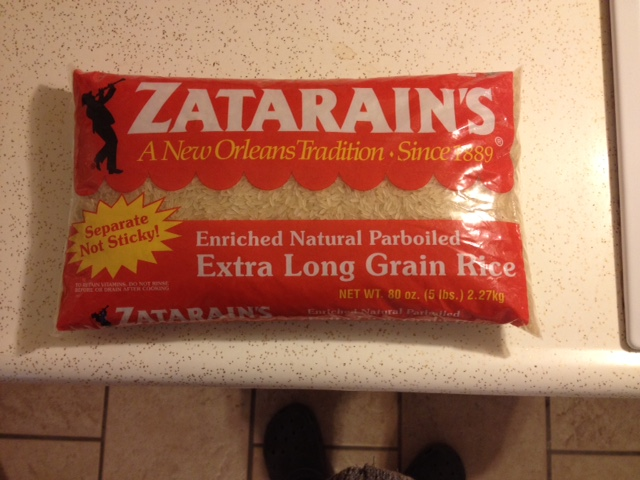 Zatarains Rice