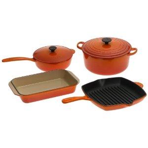 Le Creuset Classic Enameled Cast-Iron 6-Piece Cookware Set