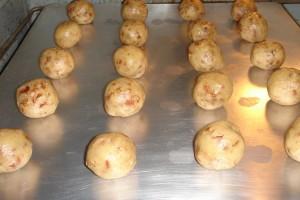Snowball Cookies Baking