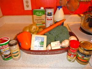 broccoli potato soup ingredients