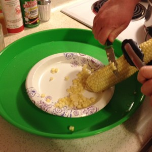 Cut the Kernels off the Cob