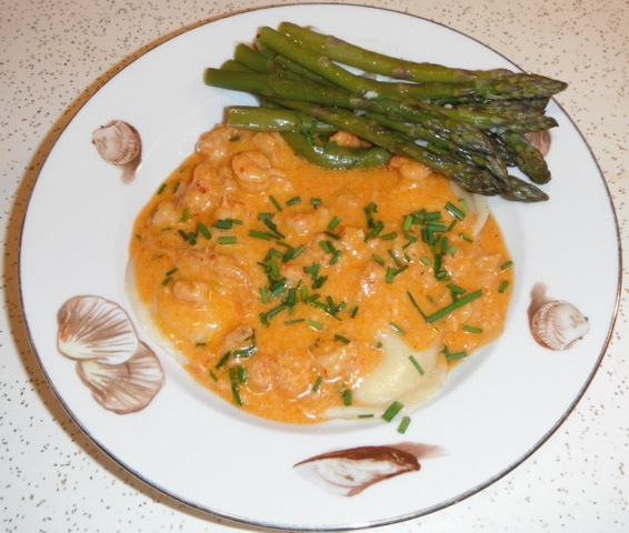 Crawfish Pasta in Crawfish Tomato Cream Sauce