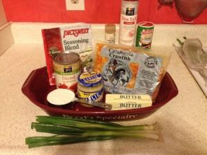 Crawfish Etouffee Ingredients