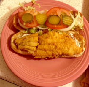 catfish poboy