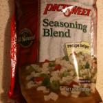 Frozen seasoning blend