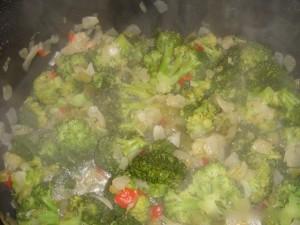 Crab Corn and Broccoli Soup