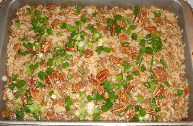 cajun rice dressing